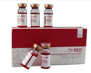 10ml / Bottle RED Ampoule Solution Lipolytic Injection Fat Loss